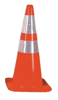 Traffic Cone with Reflector